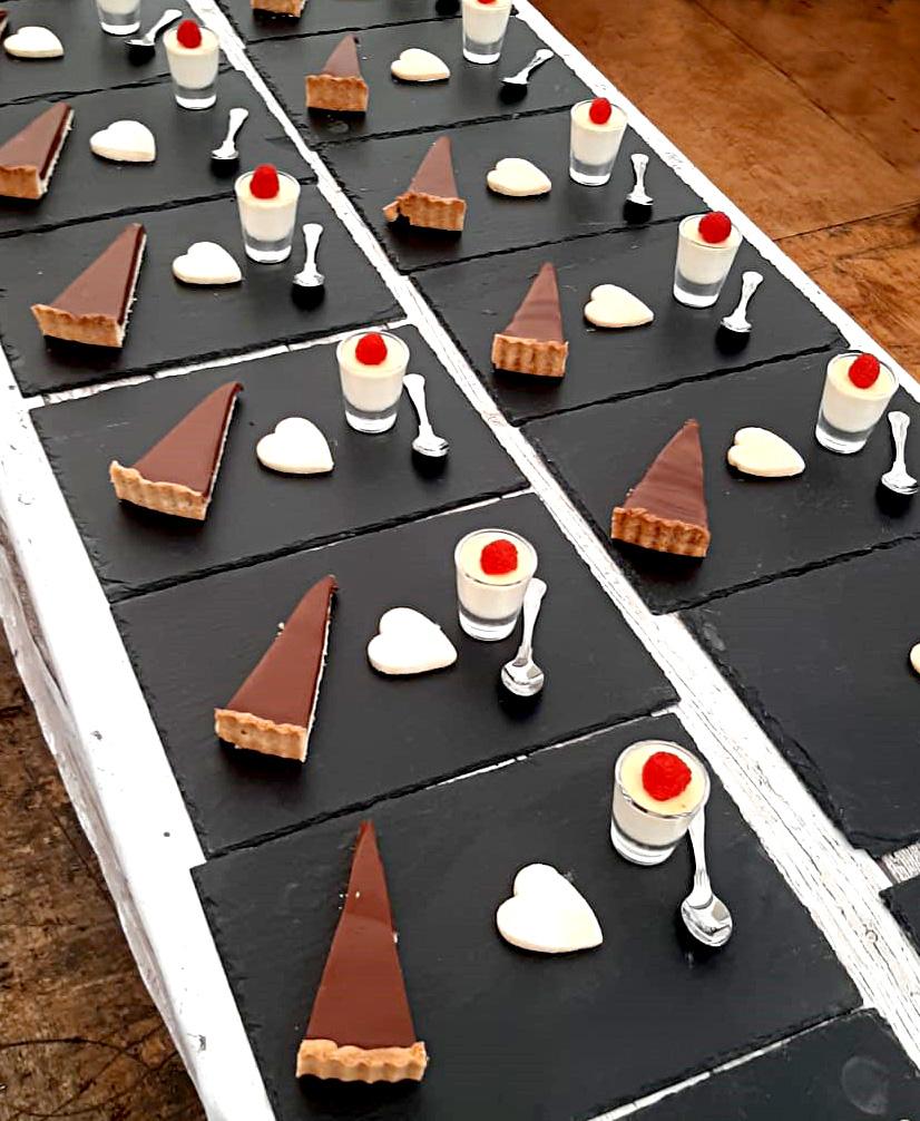 Wedding buffet desserts